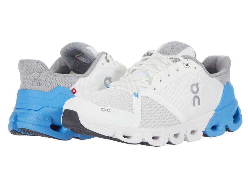 送料無料 超歓迎された サイズ交換無料 オンジー メンズ シューズ 無料サンプルOK スニーカー Blue White Cloudflyer