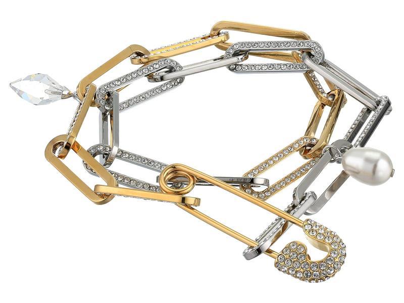 So アクセサリー スワロフスキー ブレスレット・バングル・アンクレット Cool レディース Bracelet Chain White