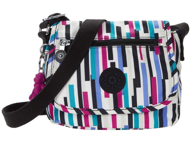 レディース Crossbody バッグ ハンドバッグ Mini Bag Sabian Urban Stripe キプリング