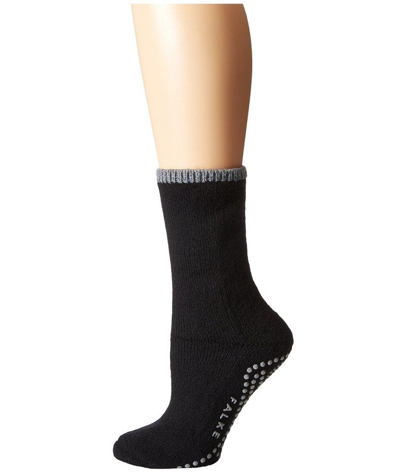 ファルケ レディース 靴下 アンダーウェア Cuddle Pad Sock Black