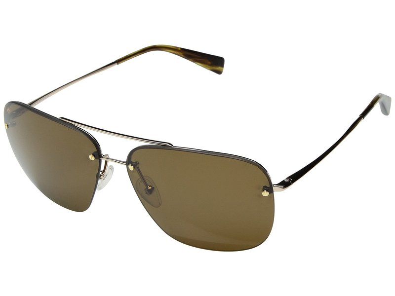 カエノン メンズ サングラス・アイウェア アクセサリー Coronado Gold/Tortoise Brown 12-Polarized