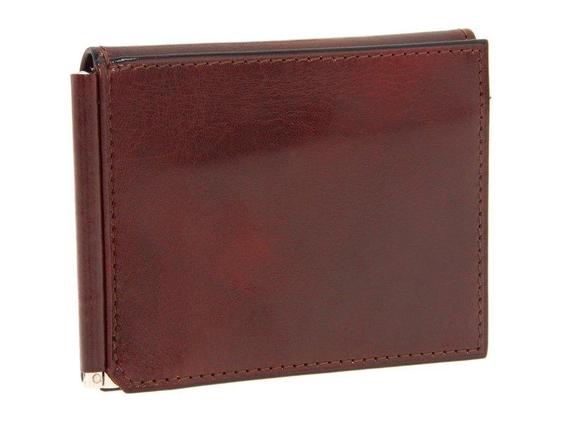 ボスカ メンズ 財布 アクセサリー Old Leather Collection - Money Clip w/ Pocket Cognac Leather