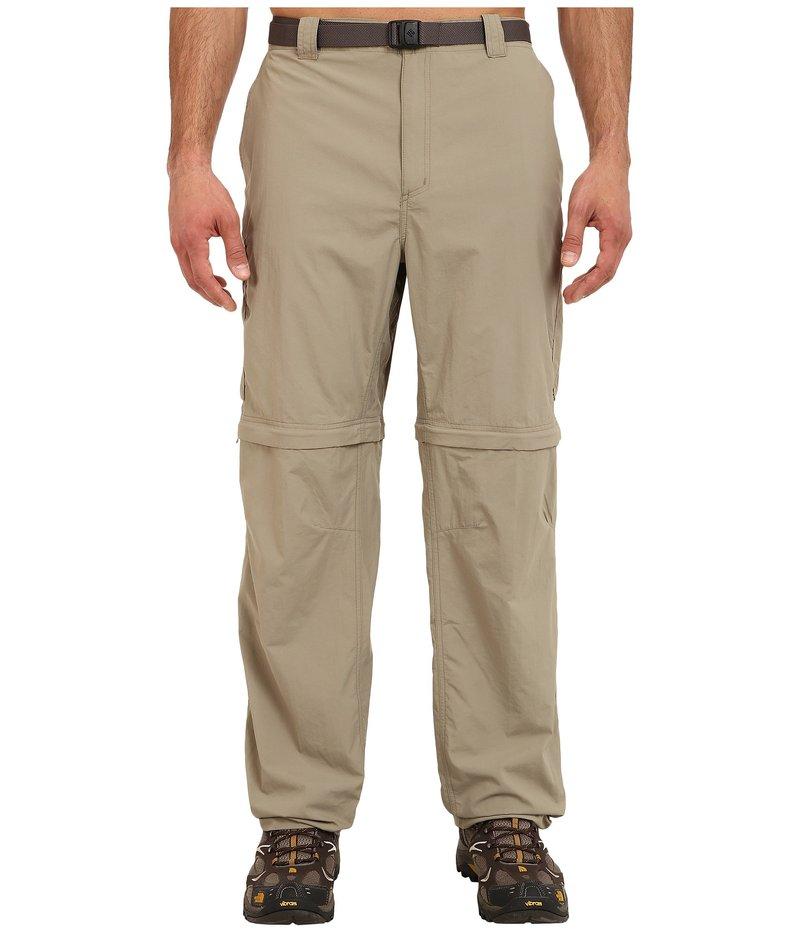 コロンビア メンズ カジュアルパンツ ボトムス Silver Ridge Convertible Pant - Extended Tusk