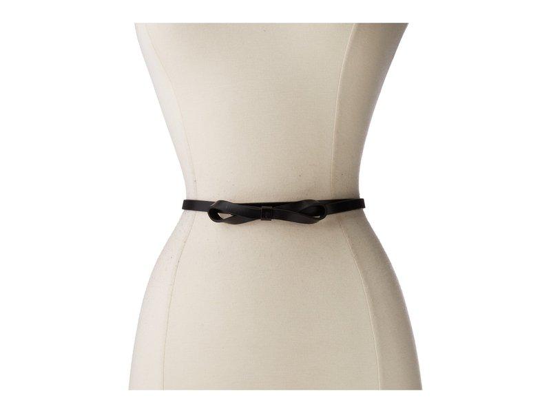 ロディス レディース ベルト アクセサリー Audrey Skinny Bow High Waist Belt Black