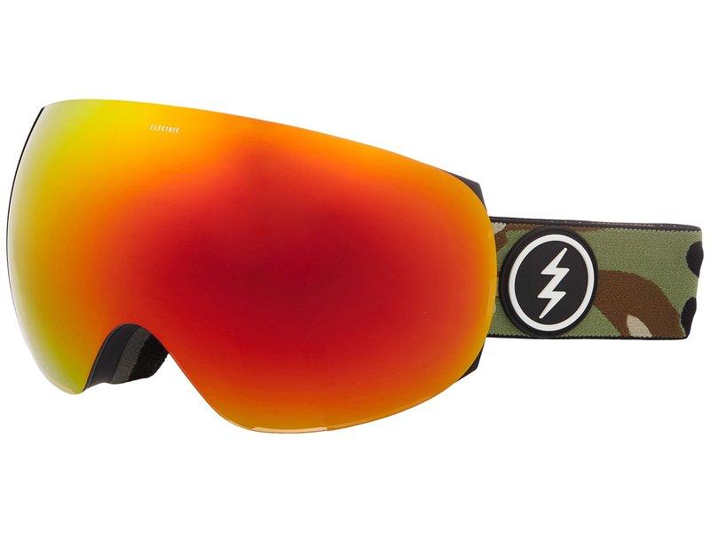 エレクトリックアイウェア メンズ サングラス・アイウェア アクセサリー EG3 Camo/Brose Red Chrome Lens