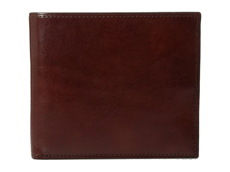 ボスカ メンズ 財布 アクセサリー Old Leather Collection - Eight-Pocket Deluxe Executive Wallet w/ Passcase Dark Brown
