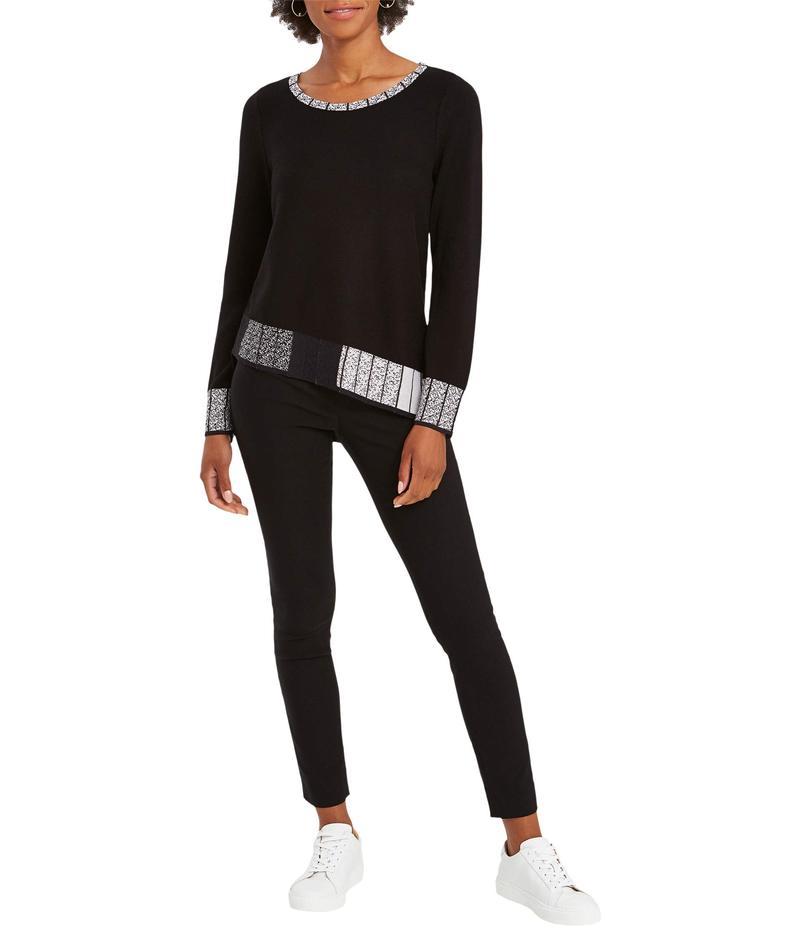 送料無料 サイズ交換無料 一部予約 ニックプラスゾーイ レディース アウター ニット セーター Black Stand Sweater Multi 激安 お買い得 キ゛フト Out