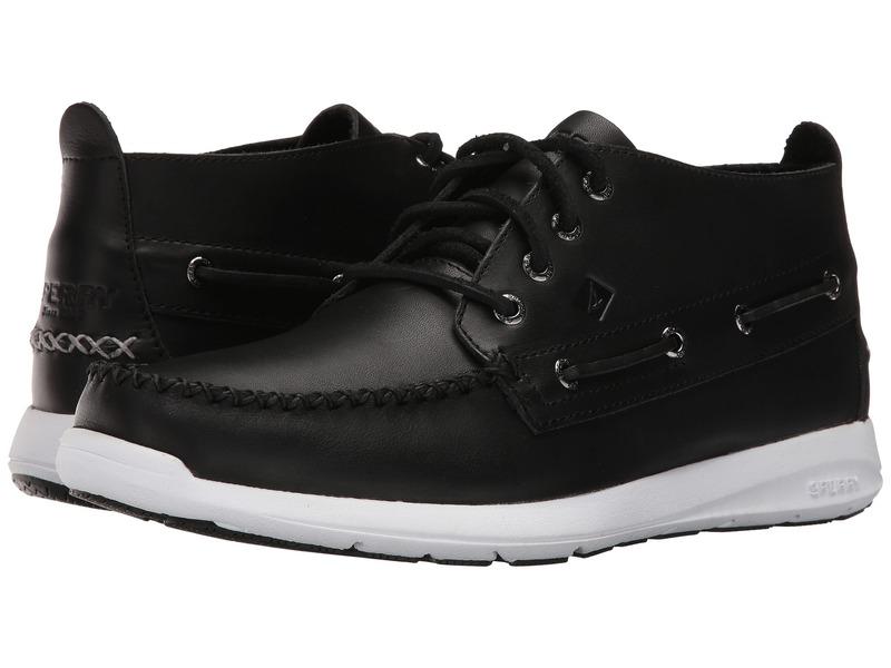 スペリー メンズ ブーツ・レインブーツ シューズ Sojourn Chukka Leather Boot Black