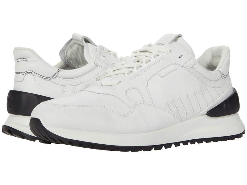 エコー メンズ スニーカー シューズ Astir Athletic Sneaker White/Black:ReVida 店