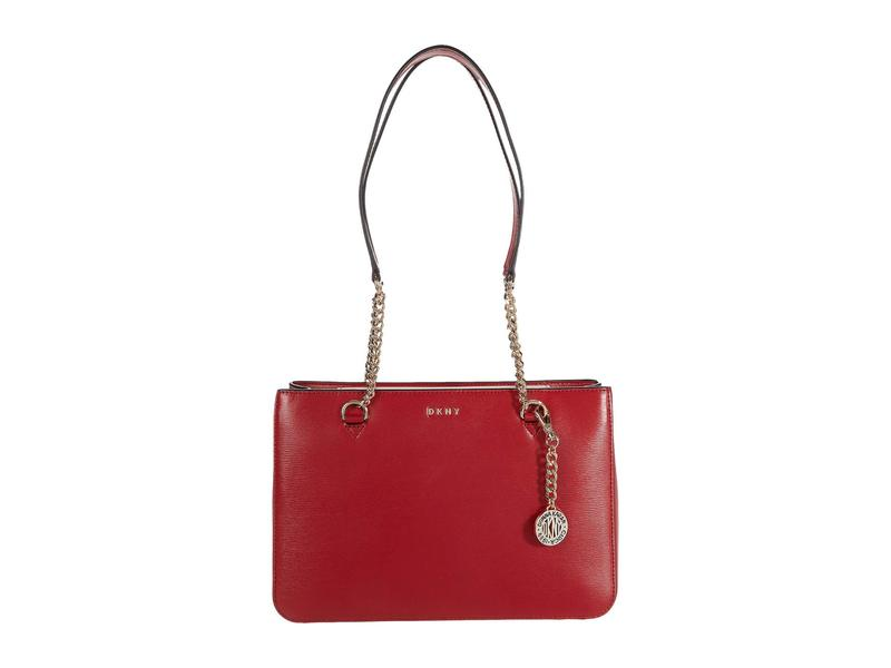 【人気商品!】 ダナ キャラン ニューヨーク レディース ハンドバッグ バッグ Bryant Medium Shopper Bright Red, ゆにでのこづち 30665191