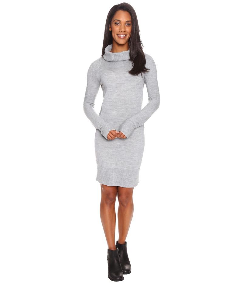 スマートウール レディース ワンピース トップス Granite Falls Sweater Dress Silver Gray Heather