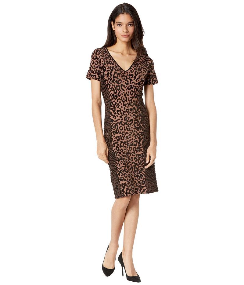 【国際ブランド】 ミリー ワンピース レディース Dress ワンピース トップス Animal Print Fitted Dress Fitted Natural Combo, 爆安のスポーツイング:6fc75b52 --- promotime.lt