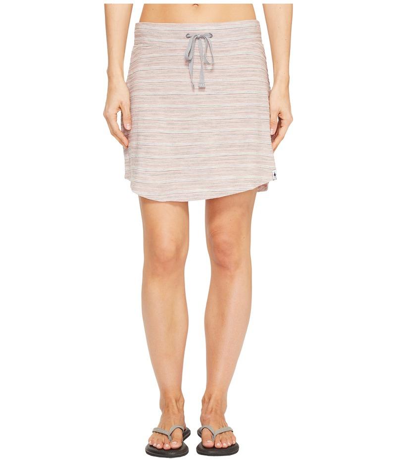 スマートウール レディース スカート ボトムス Horizon Line Skirt Mineral Pink