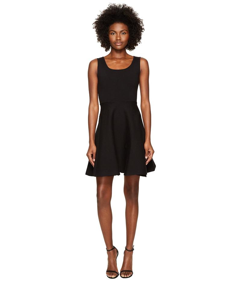 ディースクエアード レディース ワンピース トップス Sleeveless Fit and Flare Dress Black
