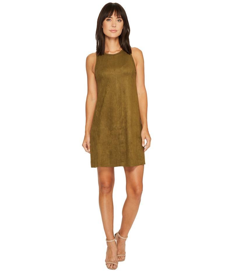 カレンケーン レディース ワンピース トップス Faux Suede A-Line Dress Sage