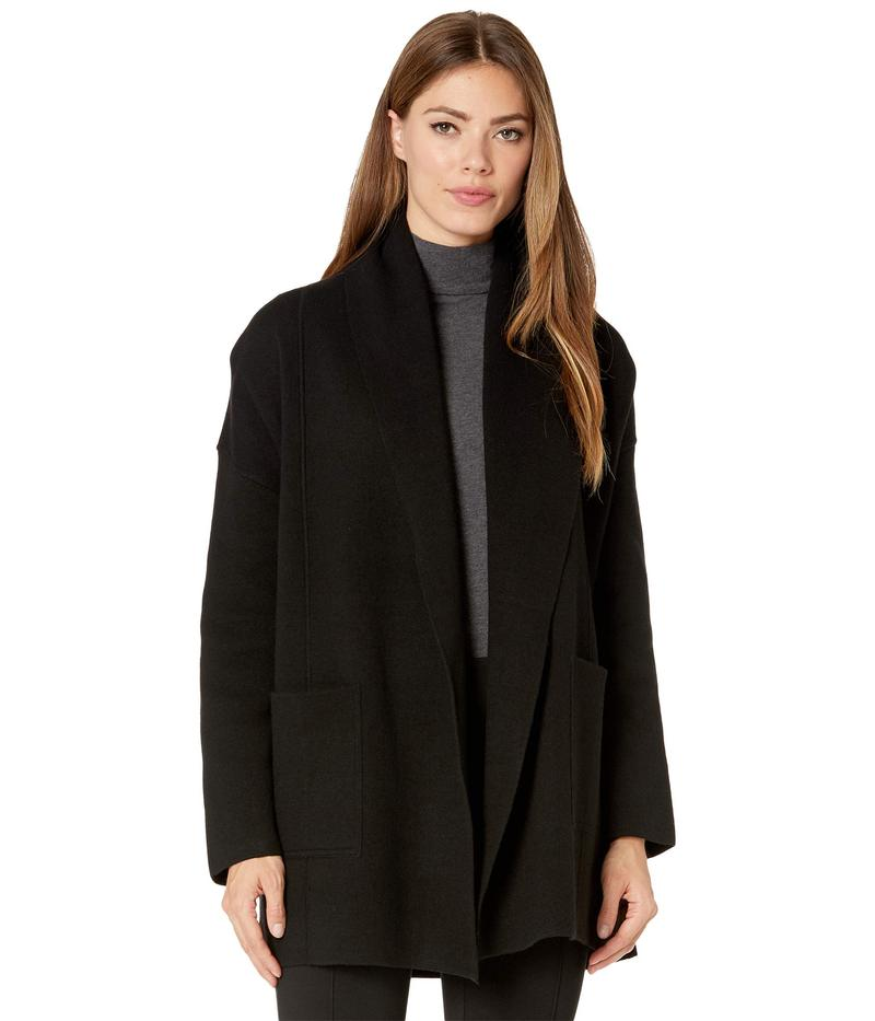 Double トッミーバハマ ニット・セーター Heather Coat アウター Sweater Grey Joy Face レディース Charcoal