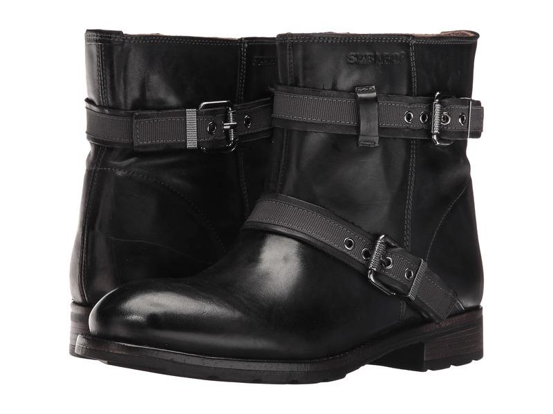 セバゴ レディース ブーツ・レインブーツ シューズ Laney Mid Boot Black Leather