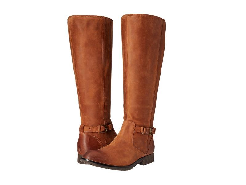 セバゴ レディース ブーツ・レインブーツ シューズ Nashoba High Boot Waterproof Brown Leather