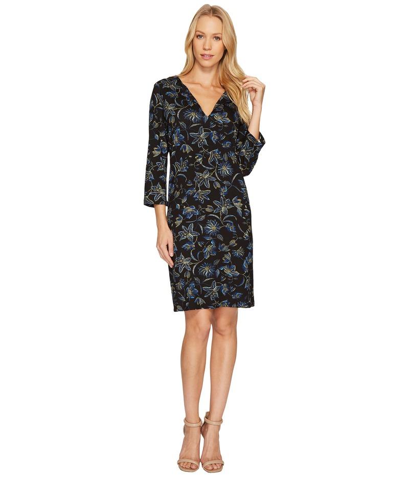 カレンケーン レディース ワンピース トップス Floral Stitch Print Shift Dress Print