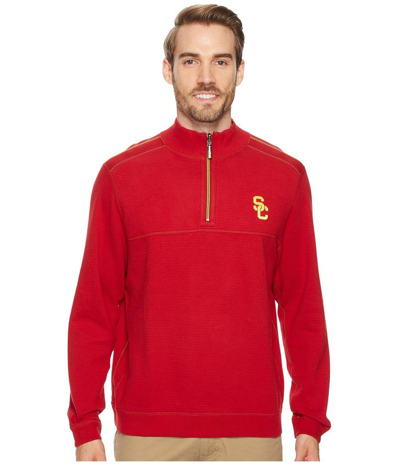 トッミーバハマ メンズ ニット・セーター アウター USC Trojans Collegiate Campus Flip Sweater University of Southern California