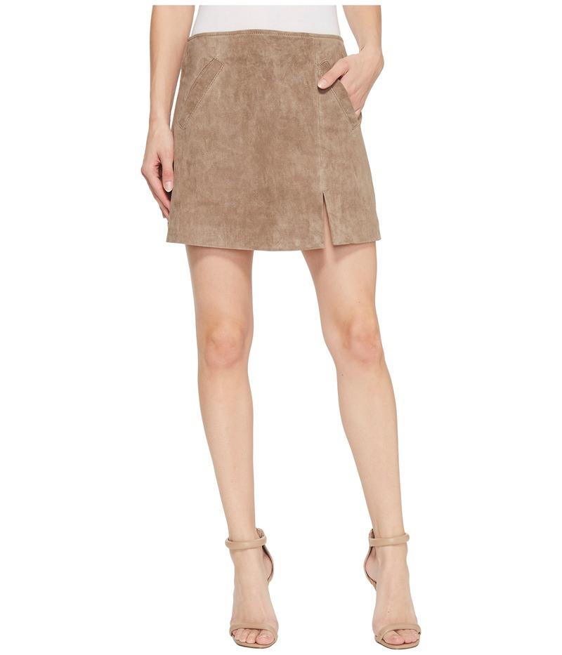 ブランクニューヨーク レディース スカート ボトムス Suede Skirt in Sand Stoner Sand Stoner