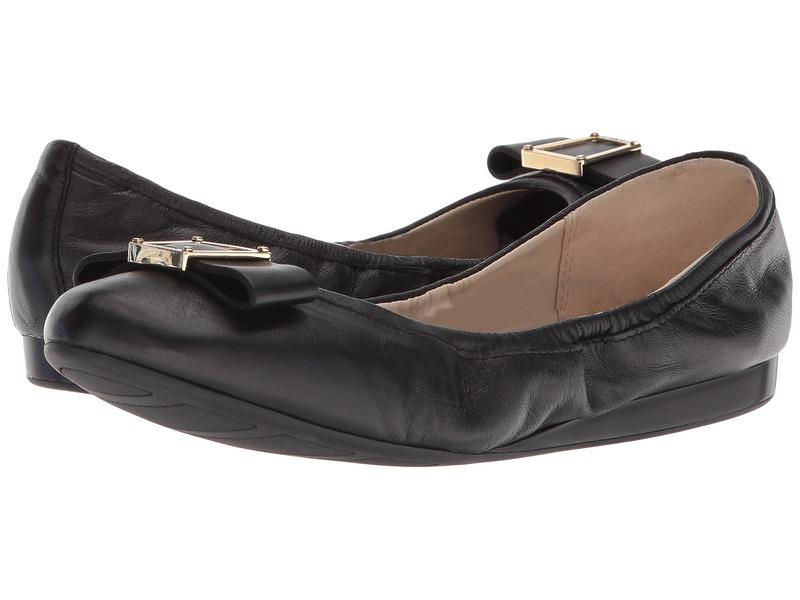 コールハーン レディース サンダル シューズ Emory Bow Ballet II Black Leather