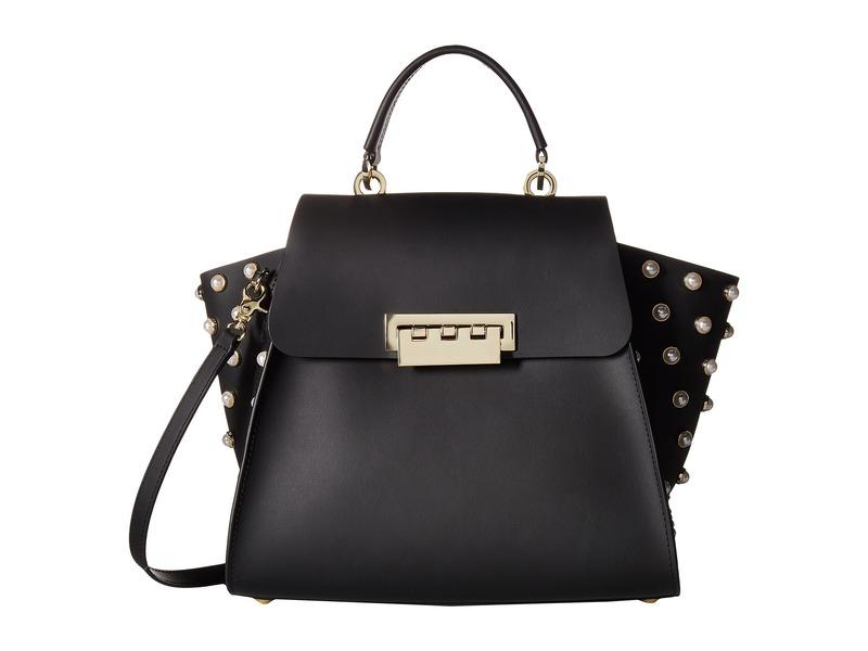 ザックポーゼン メンズ ハンドバッグ バッグ Eartha Iconic Top-Handle Pearls Black