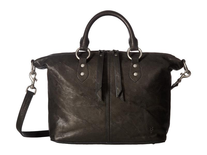 フライ メンズ ハンドバッグ バッグ Veronica Satchel Black Antique Soft Vintage