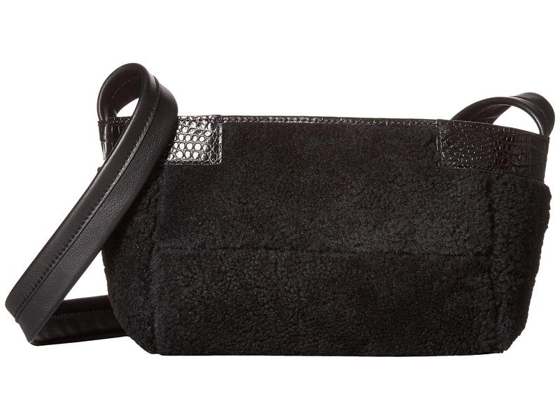 エリザベスアンドジェームズ メンズ ハンドバッグ バッグ Keely Newspaper Bag Petite Black