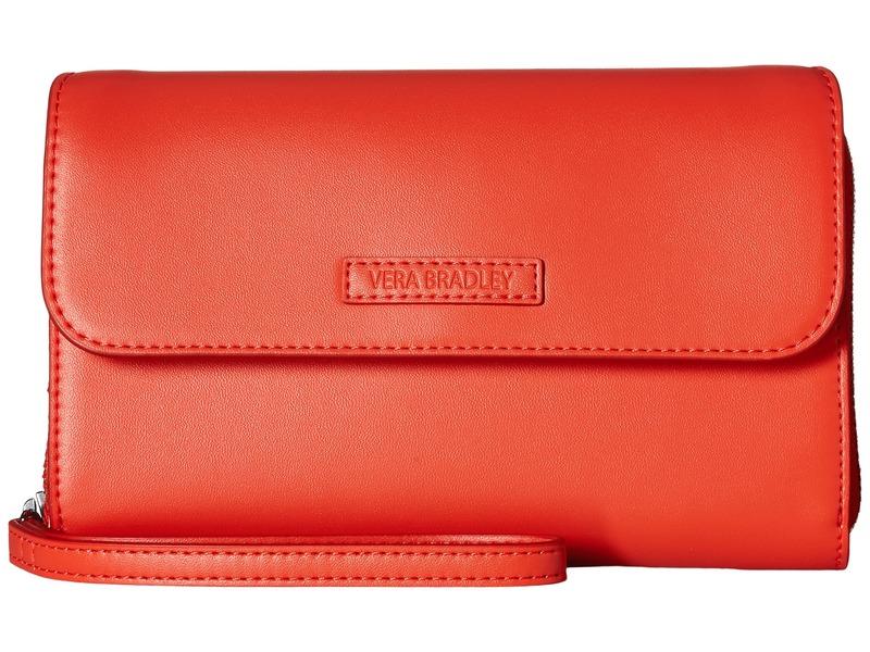 ベラブラッドリー メンズ ハンドバッグ バッグ Ultimate Wristlet Orange