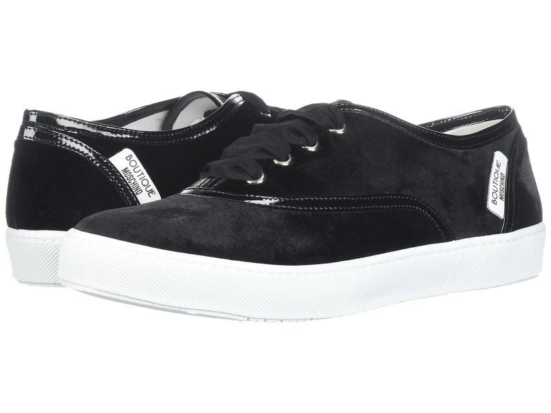 ブティックモスキーノ レディース スニーカー シューズ Velvet Sneaker Black