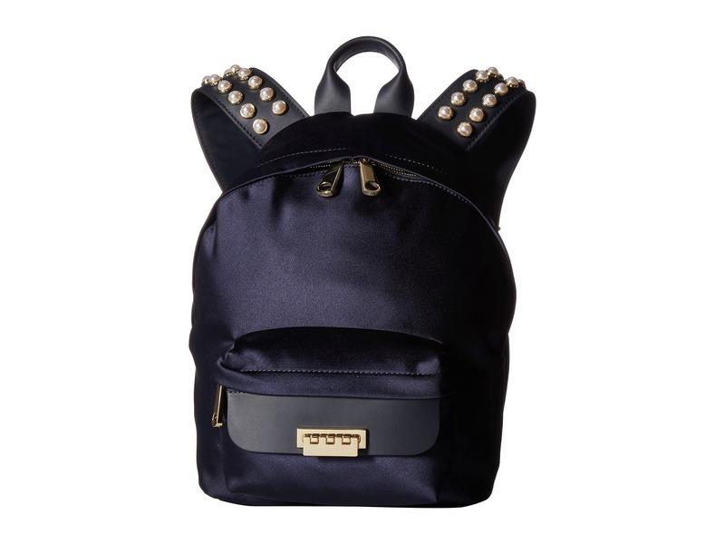 ザックポーゼン レディース バックパック・リュックサック バッグ Eartha Iconic Small Backpack - Satin Navy