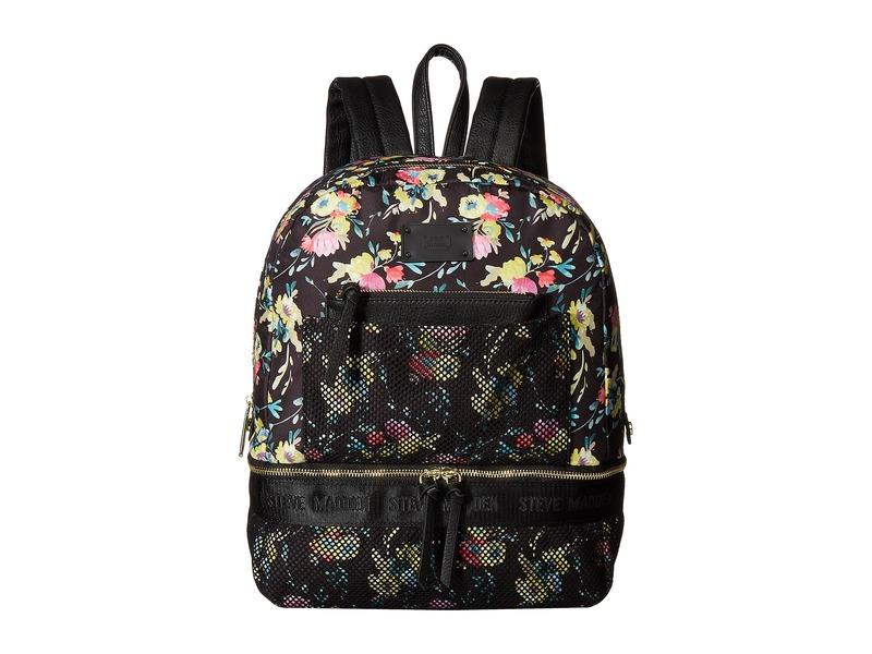 スティーブ マデン メンズ バックパック・リュックサック バッグ Bjulian Black Floral