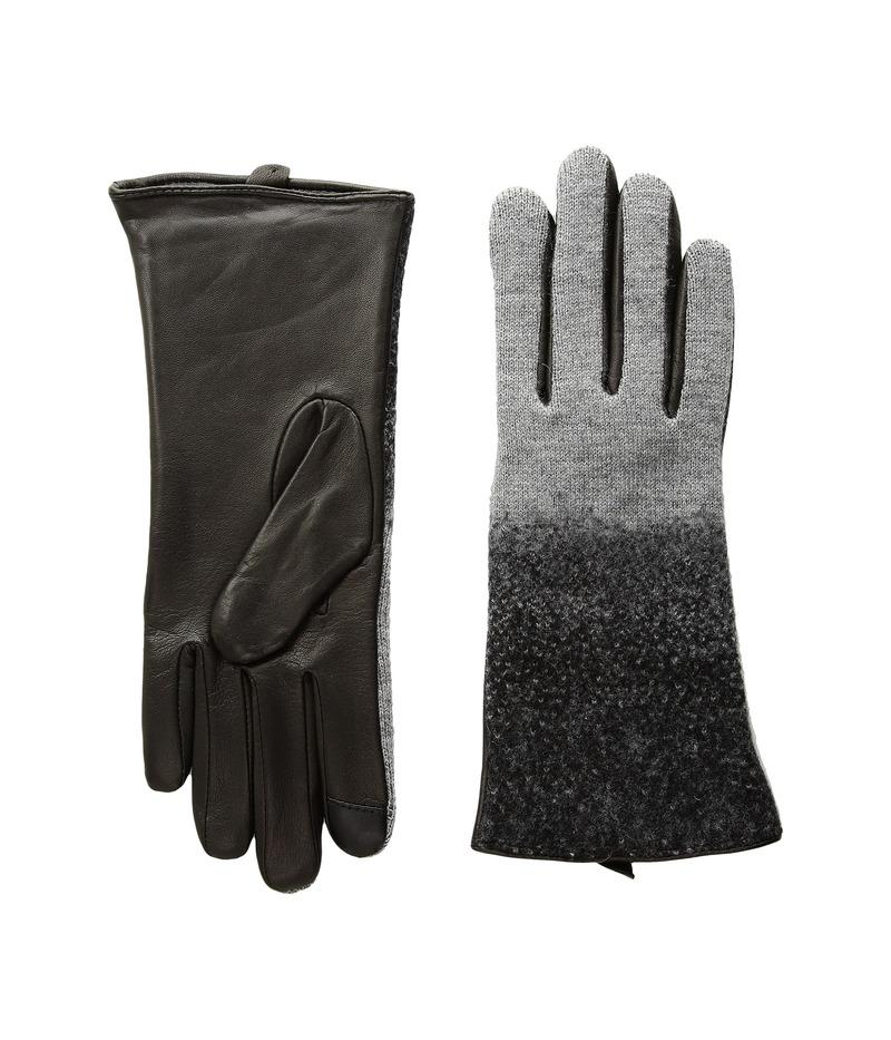エコーデザイン レディース 手袋 アクセサリー Ombre Needle Felt Gloves Heather Grey