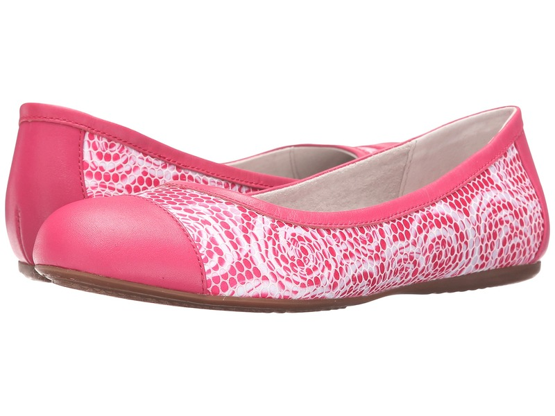 ソフトウォーク レディース サンダル シューズ Napa Pink Rose Fabric/Smooth Leather