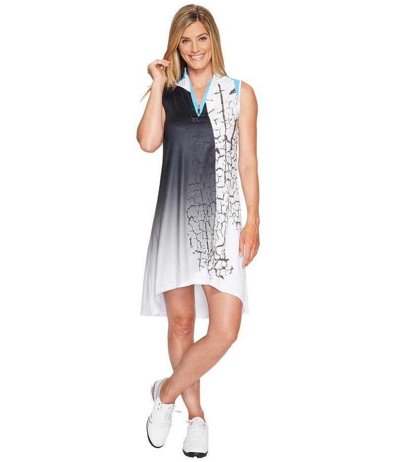 ジャイミーサドック レディース ワンピース トップス Crackle Print Dress Aquarius