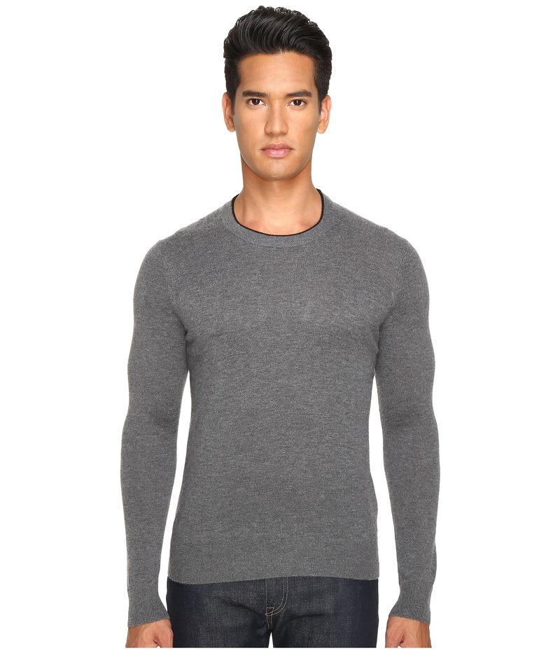 ジャックスペード メンズ ニット・セーター アウター Jersey Stitch Crew Neck Sweater Grey