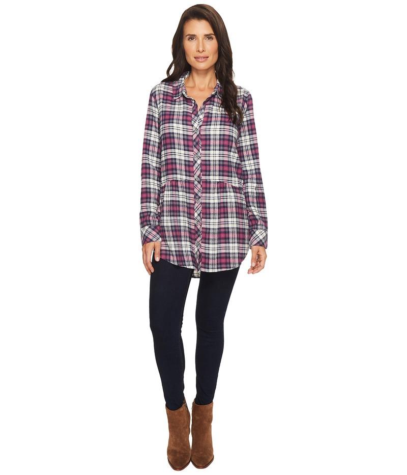 モッドドック レディース シャツ トップス Thistle Long Sleeve Flannel Shirt with Front Pockets Thistle