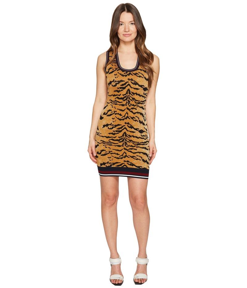 ディースクエアード レディース ワンピース トップス Animal Tank Dress Tiger Print