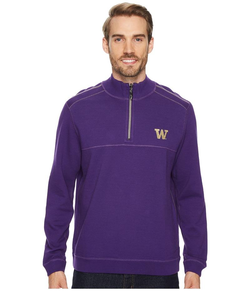 トッミーバハマ メンズ ニット・セーター アウター Washington Huskies Collegiate Campus Flip Sweater University of Washington
