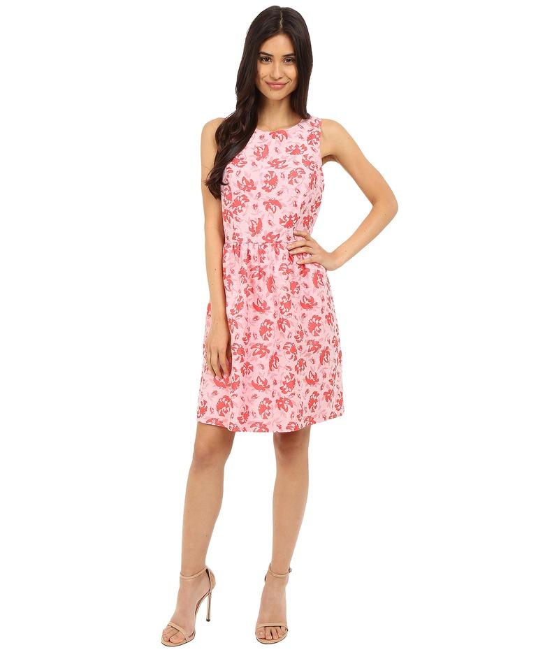 ケンジー レディース ワンピース トップス Tropical Brocade Dress KS5K7936 Hot Coral Combo