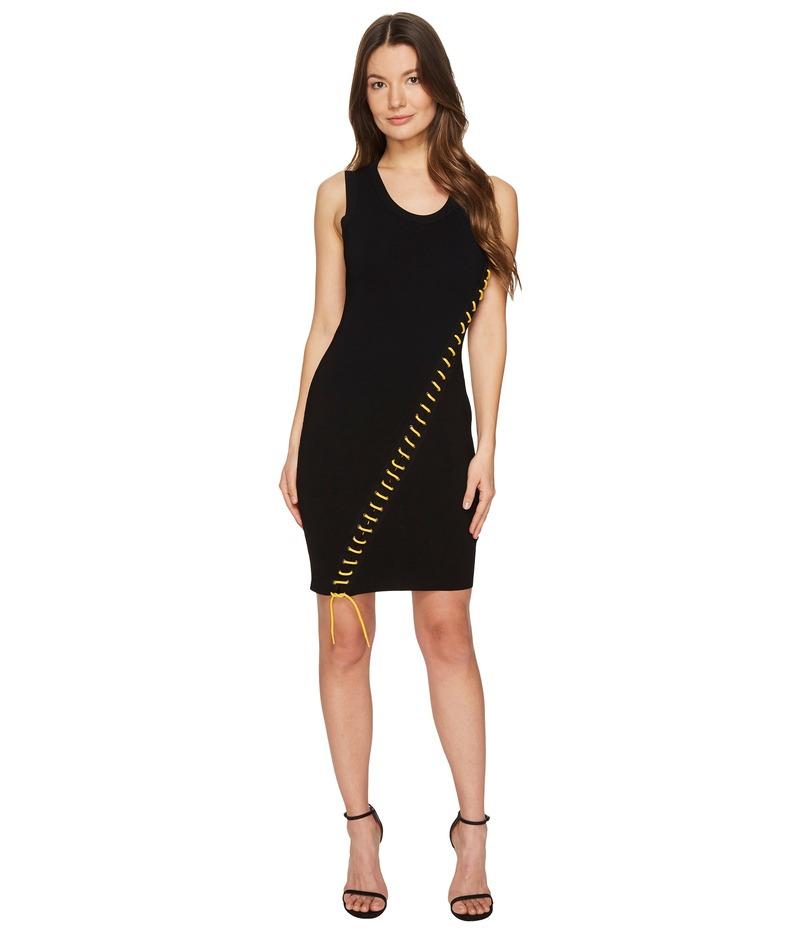 ディースクエアード レディース ワンピース トップス Skin Biker Sleeveless Dress Black