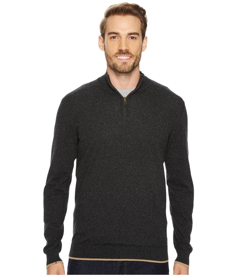 アガーヴィデニム メンズ ニット・セーター アウター Latitude Long Sleeve 1/4 Zip 14GG Sweater Stretch Limo