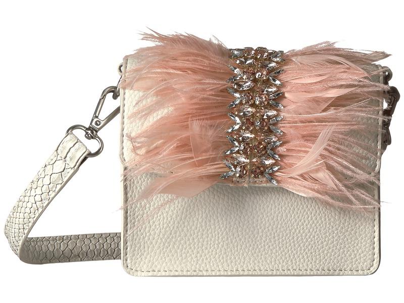 サムエデルマン メンズ ハンドバッグ バッグ Vivica Mini Shoulder Bag Winter White/Pink Feathers
