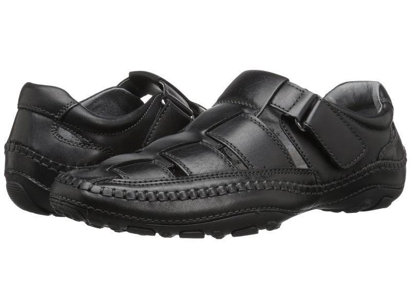 ジービーエックス メンズ サンダル シューズ Sentaur Black Semi Leather