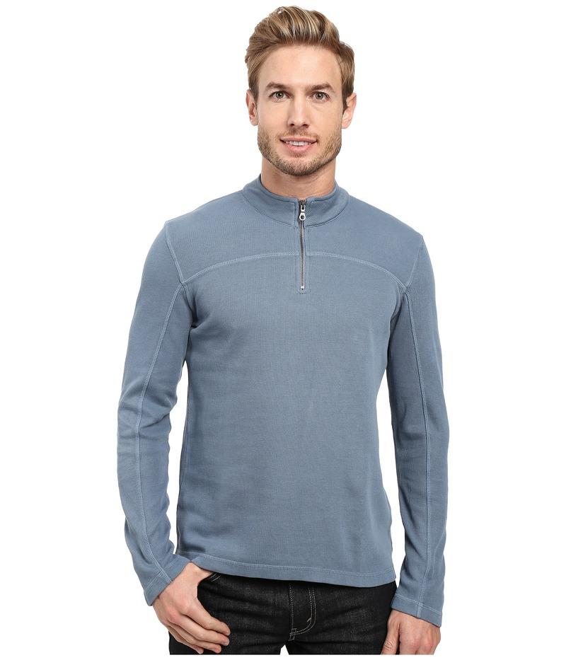 アガーヴィデニム メンズ ニット・セーター アウター Butte Long Sleeve Flatback Rib China Blue
