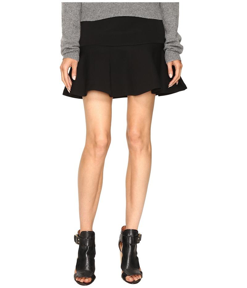 アレキサンダー・マックイーン レディース スカート ボトムス Peplum Mini Skirt Darkest Black