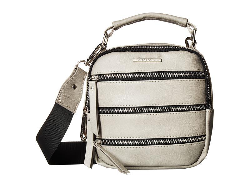 ランページ メンズ ハンドバッグ バッグ Triple Zip Camera Bag Concrete