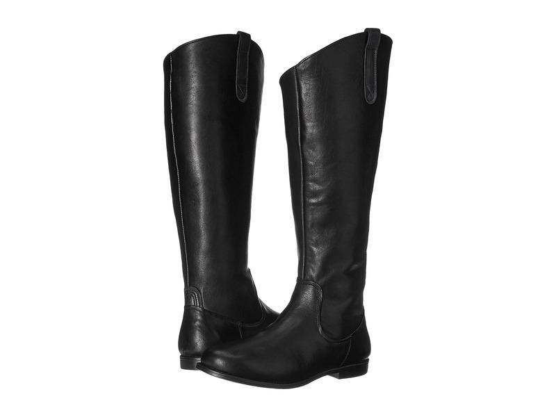 セバゴ レディース ブーツ・レインブーツ シューズ Plaza Tall Boot Black Leather