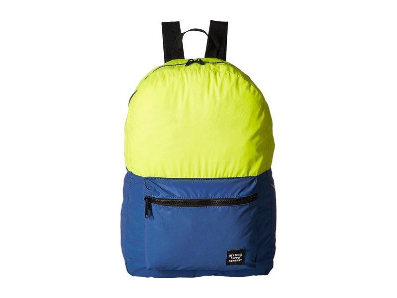 ハーシェルサプライ メンズ バックパック・リュックサック バッグ Packable Daypack Neon Yellow Reflective/Peacoat Reflective